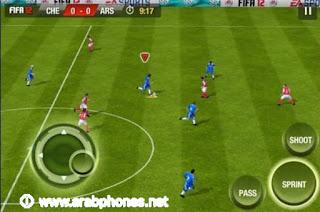 تحميل لعبة بيس 2012 Pes apk للاندرويد مجانا