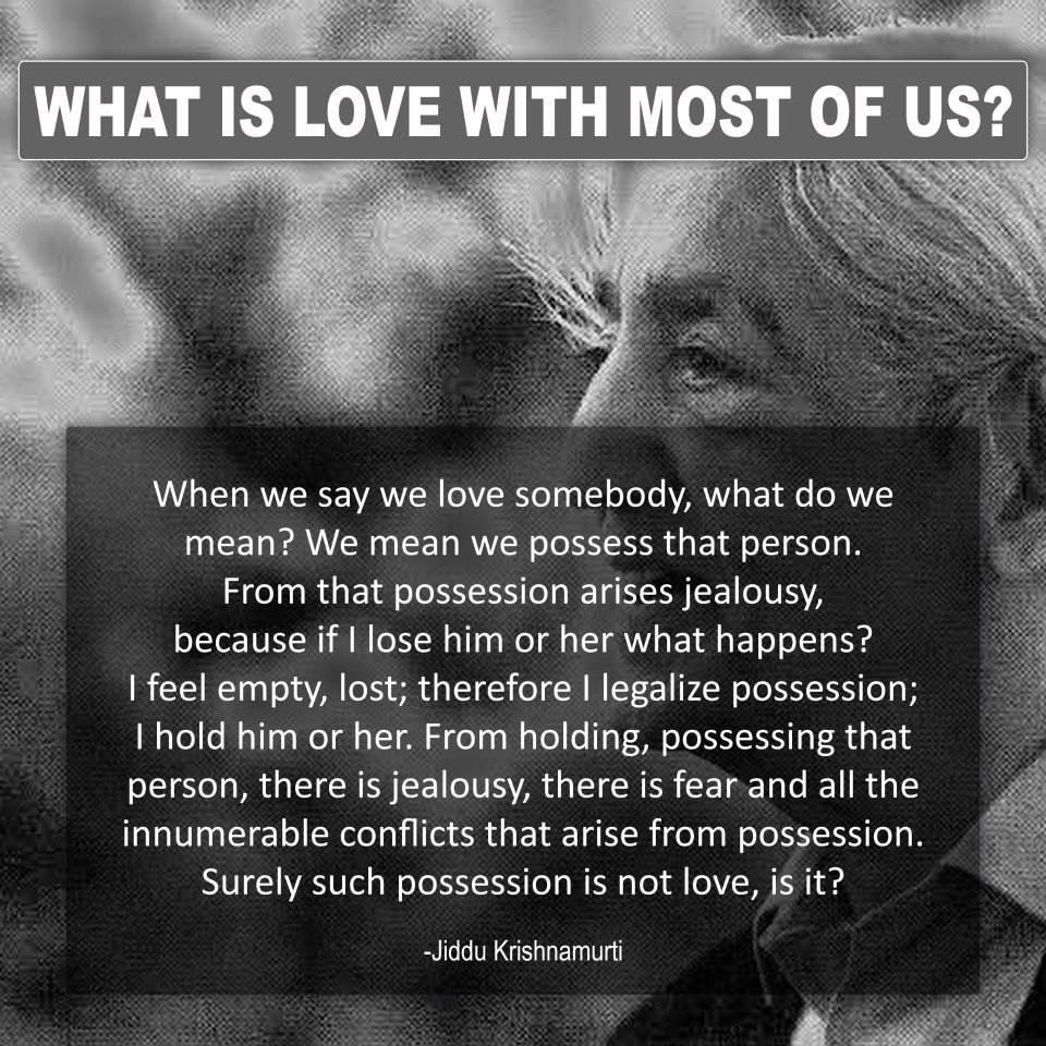 Jiddu Krishnamurti Quotes and Philosophical Sayings | Quotes