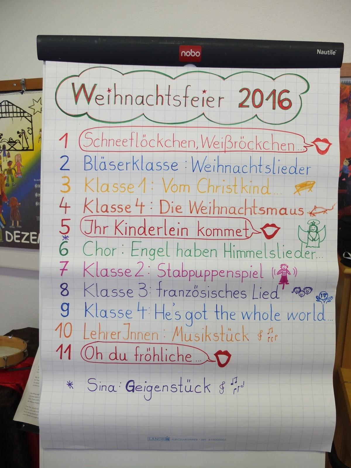 Grundschule Holzmaden Dezember 2016
