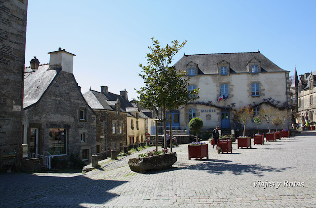 Les Halles, Rochefort-en-Terre, Bretaña, Francia