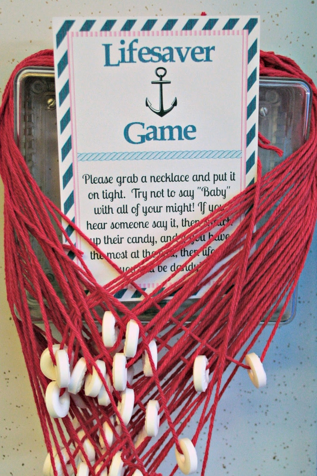 Oriental Trading Baby Shower, Oriental Trading Nautical Theme, Oriental  Trading Baby Shower Games,