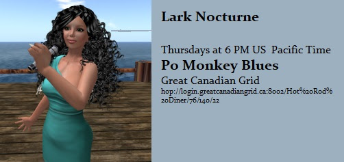 OpenSim Premier at Po Monkey Blues on Great Canadian Grid! Thursday 6 PM