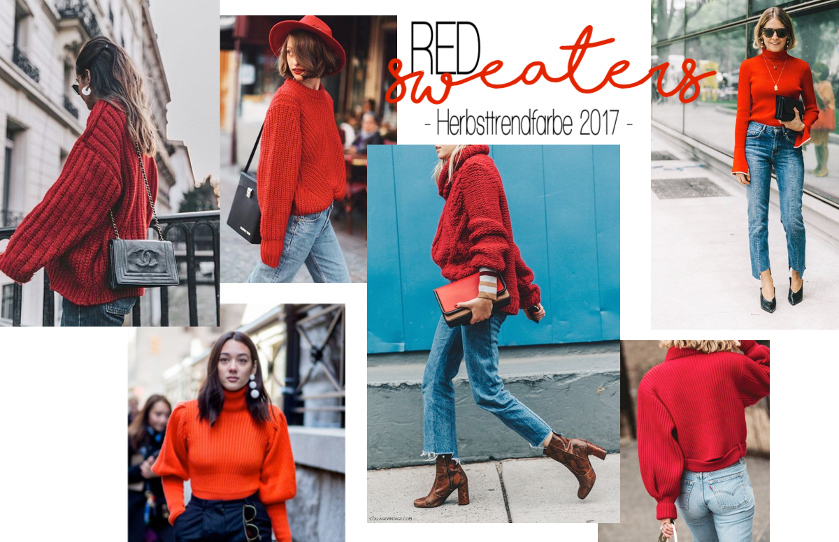 Inspiration Trendcheck Herbsttrendfarbe 2017 Rot Autumn Red Signalrot - see more on http://www.theblondelion.com/2017/09/trend-autumn-red-rot-herbstfarbe-2017.html
