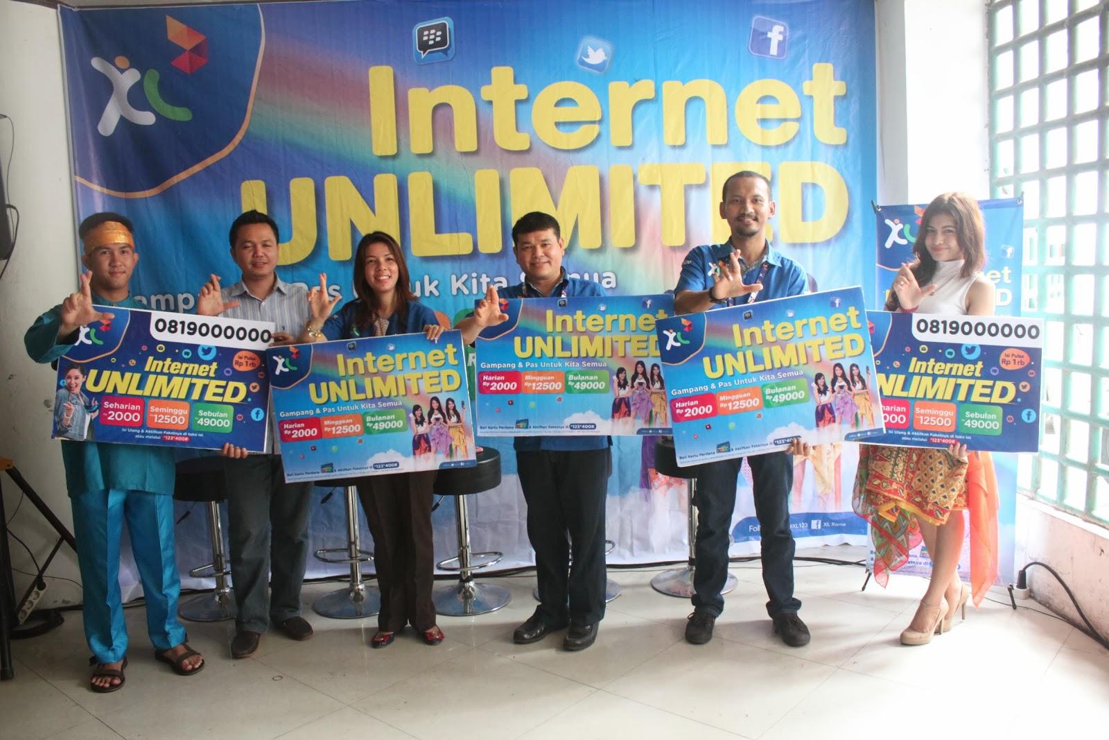 XL Hadirkan Internet Unlimited