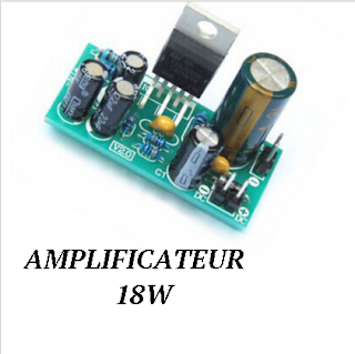 Amplificateur pour débutant AMPLI for newbies  TDA 2030A