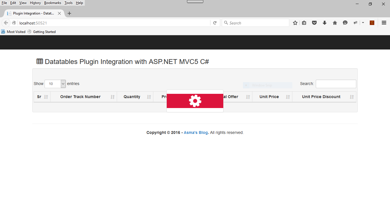 ASP NET MVC5: Datatables Plugin Server Side Integration - Asma's Blog