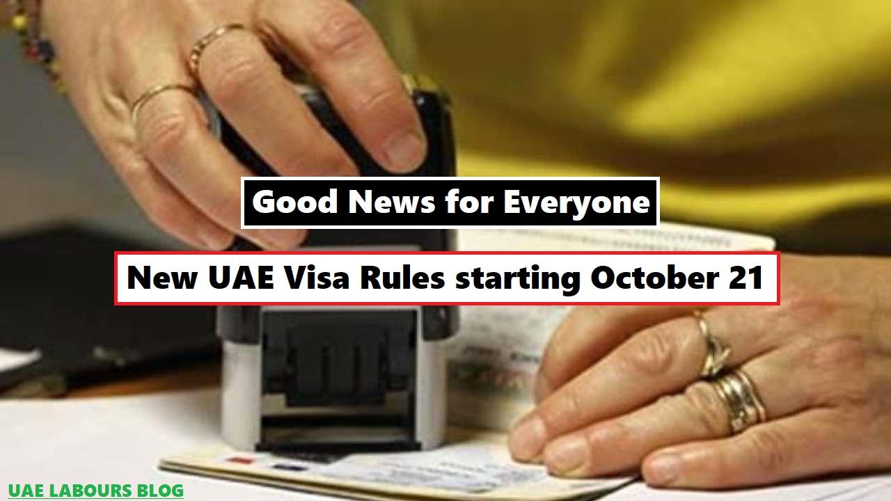 UAE Visit visa extension rules