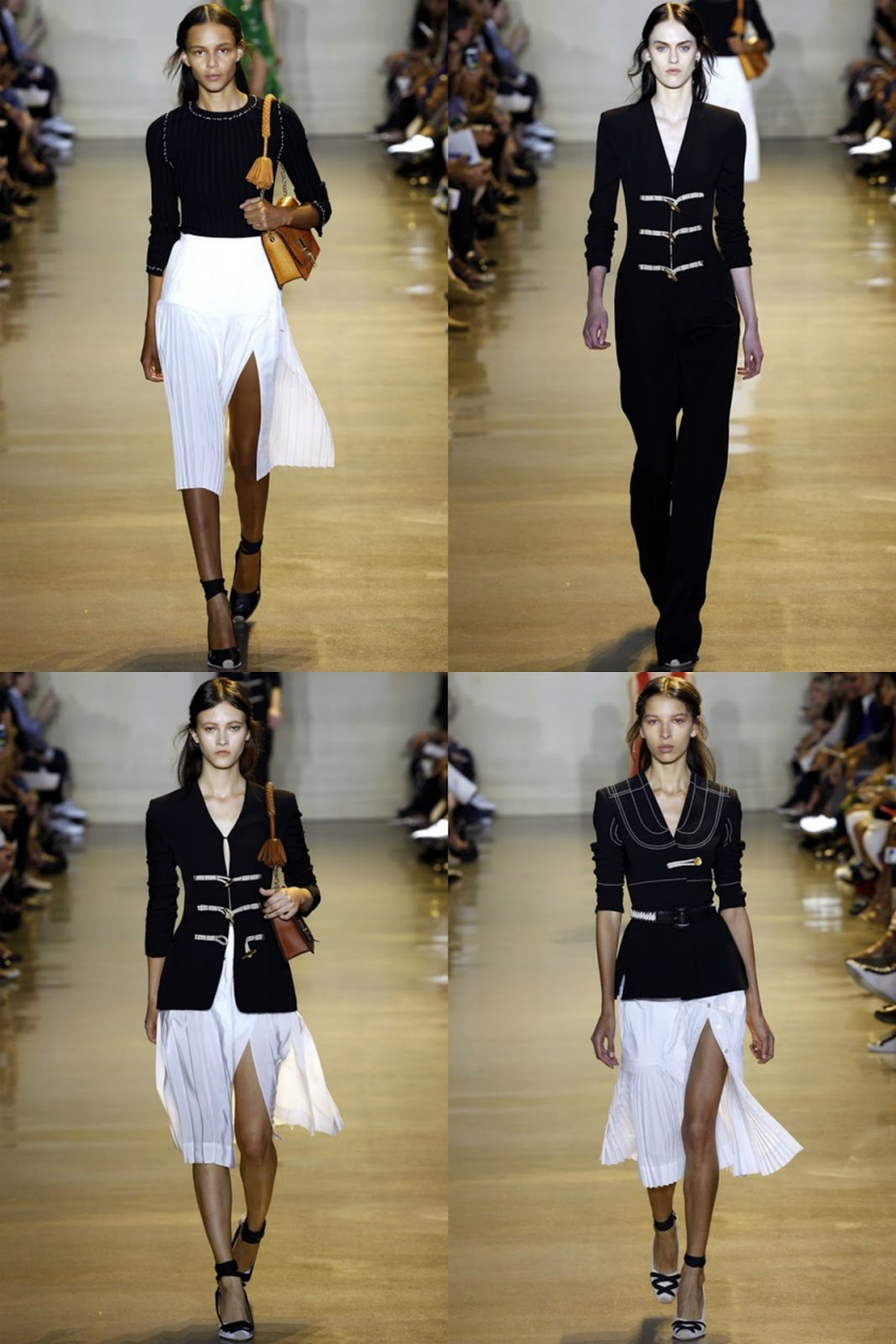 Eniwhere Fashion - B&W - Altuzarra SS2016