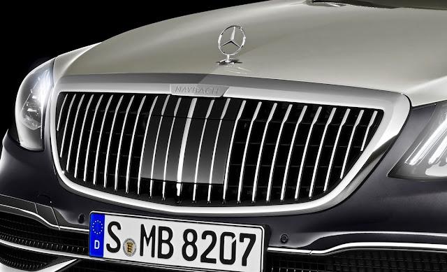 大幅改良された「メルセデス・マイバッハ・Sクラス」のデザインを初公開!新グリルデザインや2トーンカラーも採用。