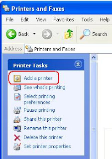 add a new printer