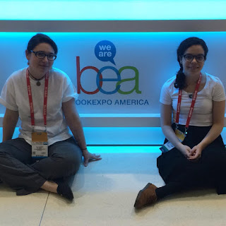 Holly and Vina at BookExpo America