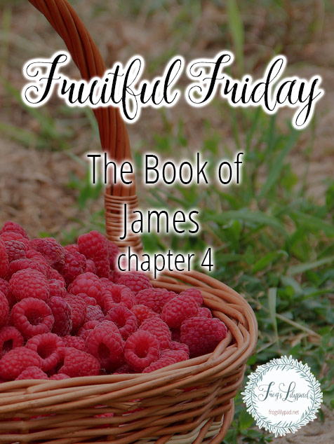Simple Thoughts Without Theology The Book of James {Chapter 4} A Separated Life