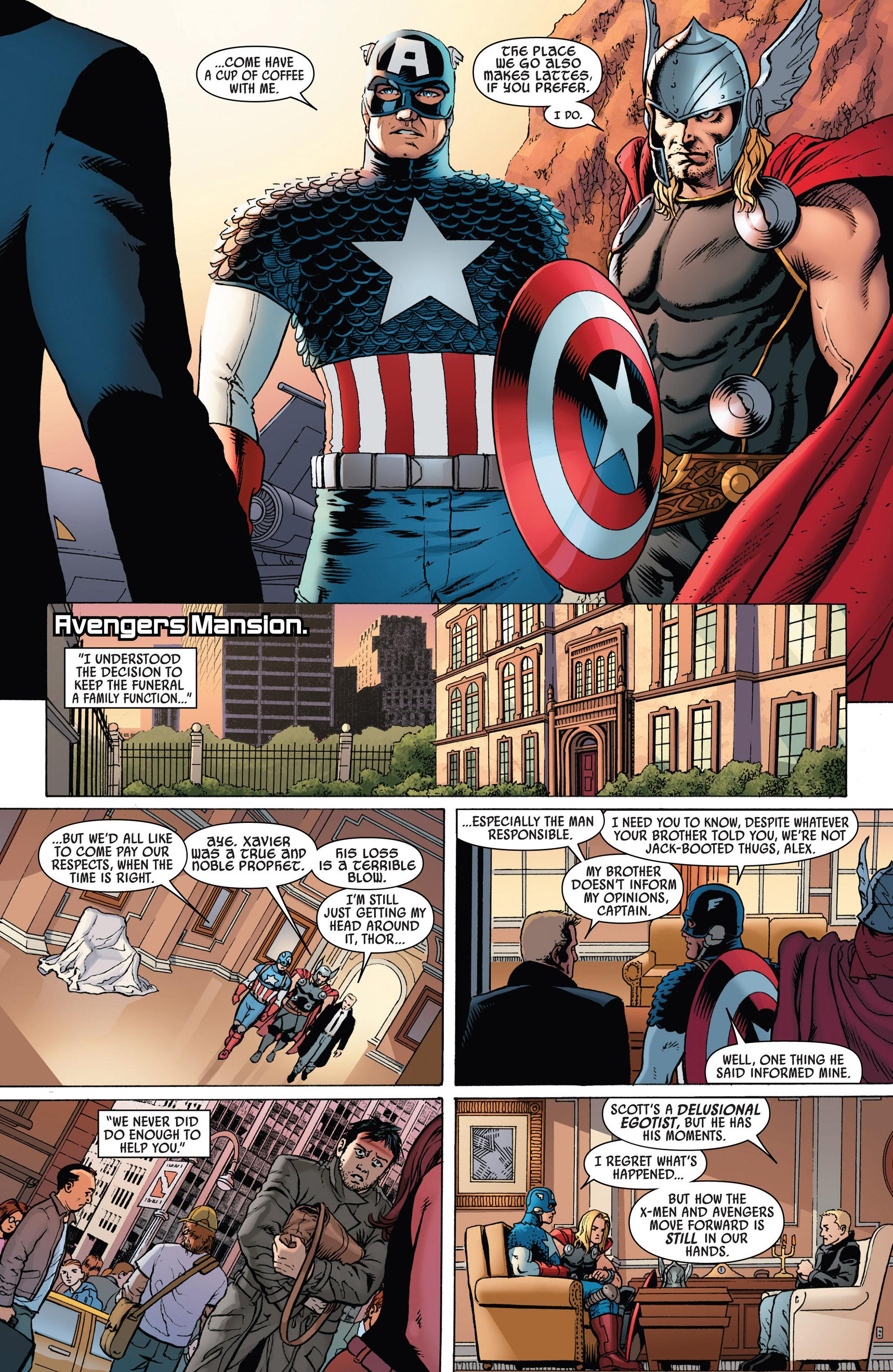 Read online Uncanny Avengers (2012) comic -  Issue #1 - 9