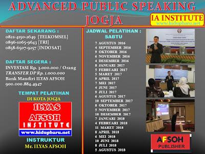 Sertifikasi Trainer Public Speaking Indonesia