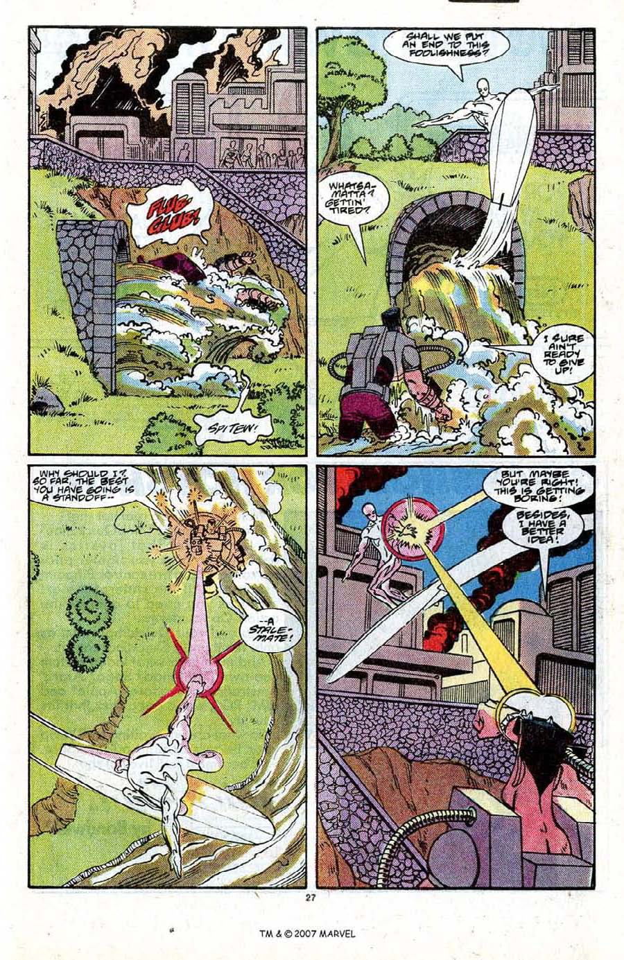 Read online Silver Surfer (1987) comic -  Issue #21 - 29