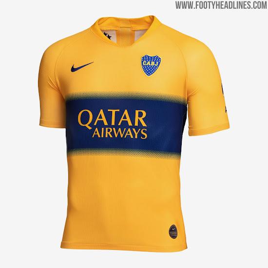official photos 5c10f c9c57 Boca Juniors 2019-20 Away Kit Released - Footy Headlines