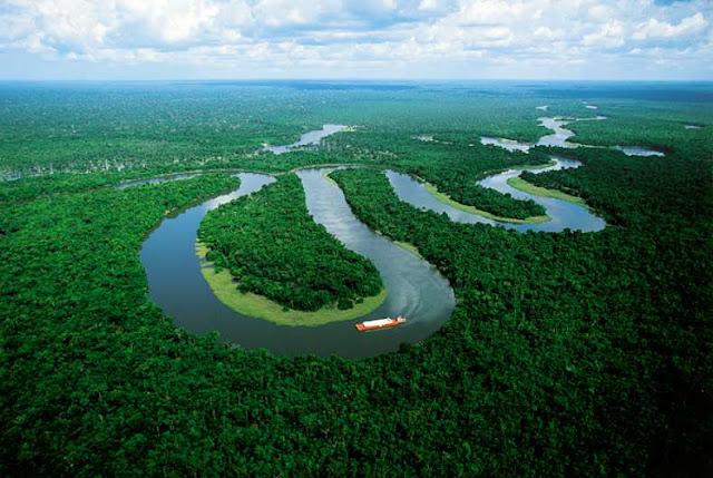 Amazon River, Brazil.