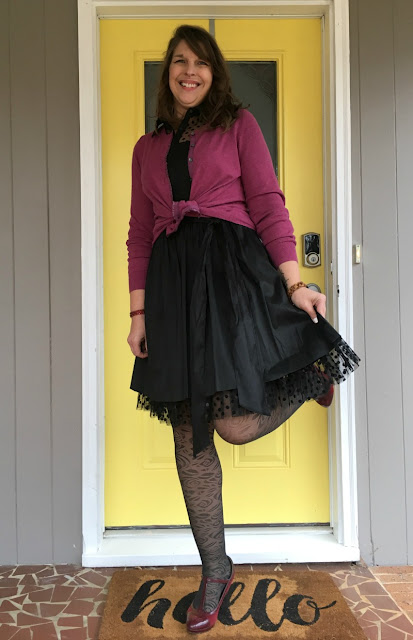 Dress up in taffeta and tulle for Valentine's Day!