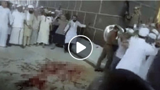 Heboh! Video Lantai Ka'bah Penuh Darah Yang Jadi Viral