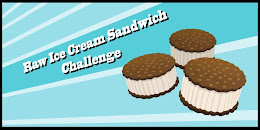 Raw Ice Cream Sandwich Challenge