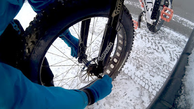Wren Inverted Fatbike Fork