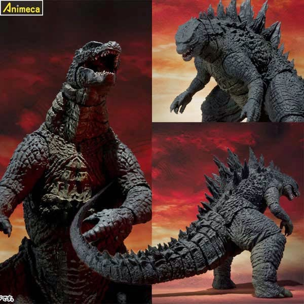 GODZILLA 2014 S.H.MonsterArts FIGURE BANDAI