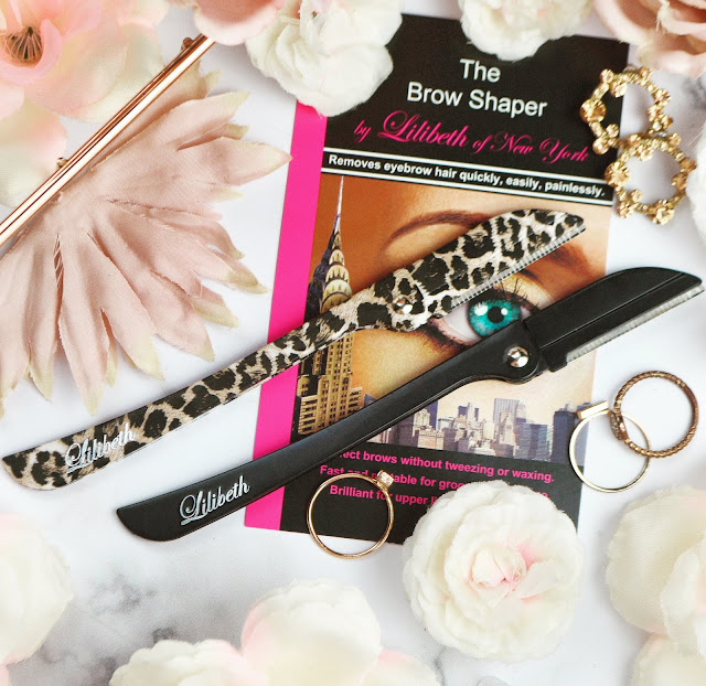 Lilibeth of New York BROW SHAPER SET OF 2 LEOPARD PRINT from Instant Beauty Fix Review, Lovelaughslipstick Blog