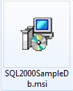 SQL2000SampleDb.msi Executable File
