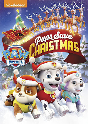 Paw Patrol Pups Save Christmas 2016 DVD R1 NTSC Latino