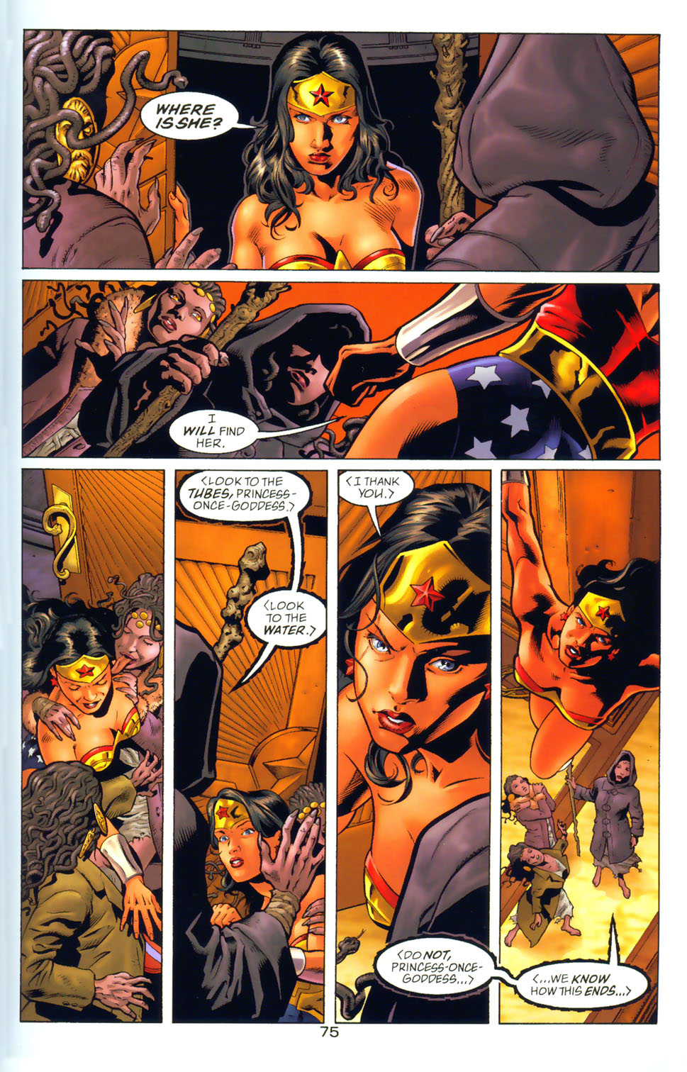 Read online Wonder Woman: The Hiketeia comic -  Issue # Full - 85