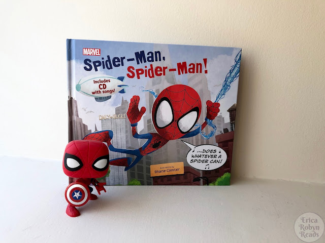 Children's Book Review of Spider-Man, Spider-Man! by Marvel Press Book Group