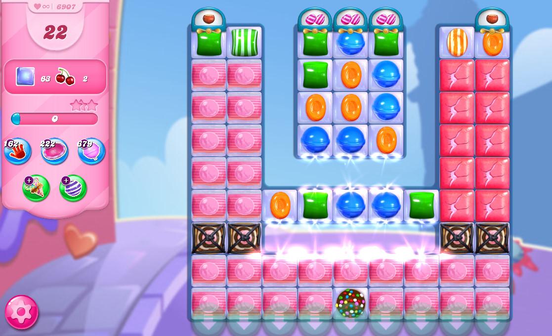Candy Crush Saga level 6907