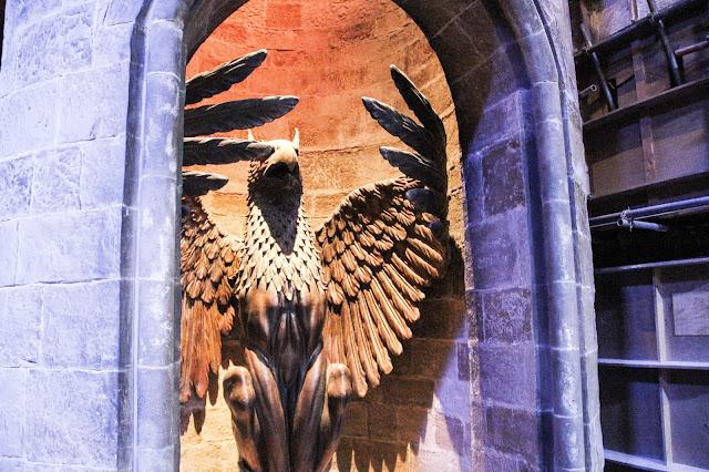 Entrée du bureau de Dumbledore