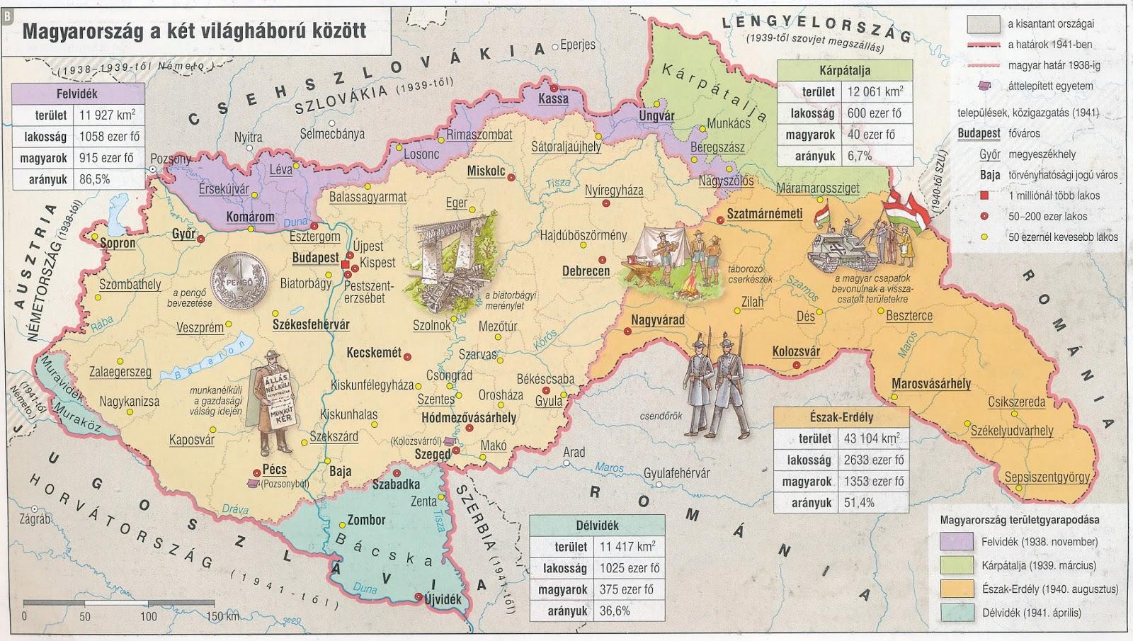 magyarország térkép 1942 Bag csapat blogja: MAGYARORSZÁG A II. VIALÁGHÁBORÚBAN magyarország térkép 1942
