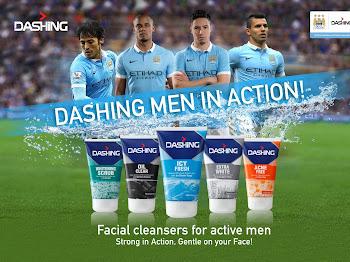 Manchester City Football Club Facial Cleanser Pembersih Muka Khas Untuk Jejaka Aktif