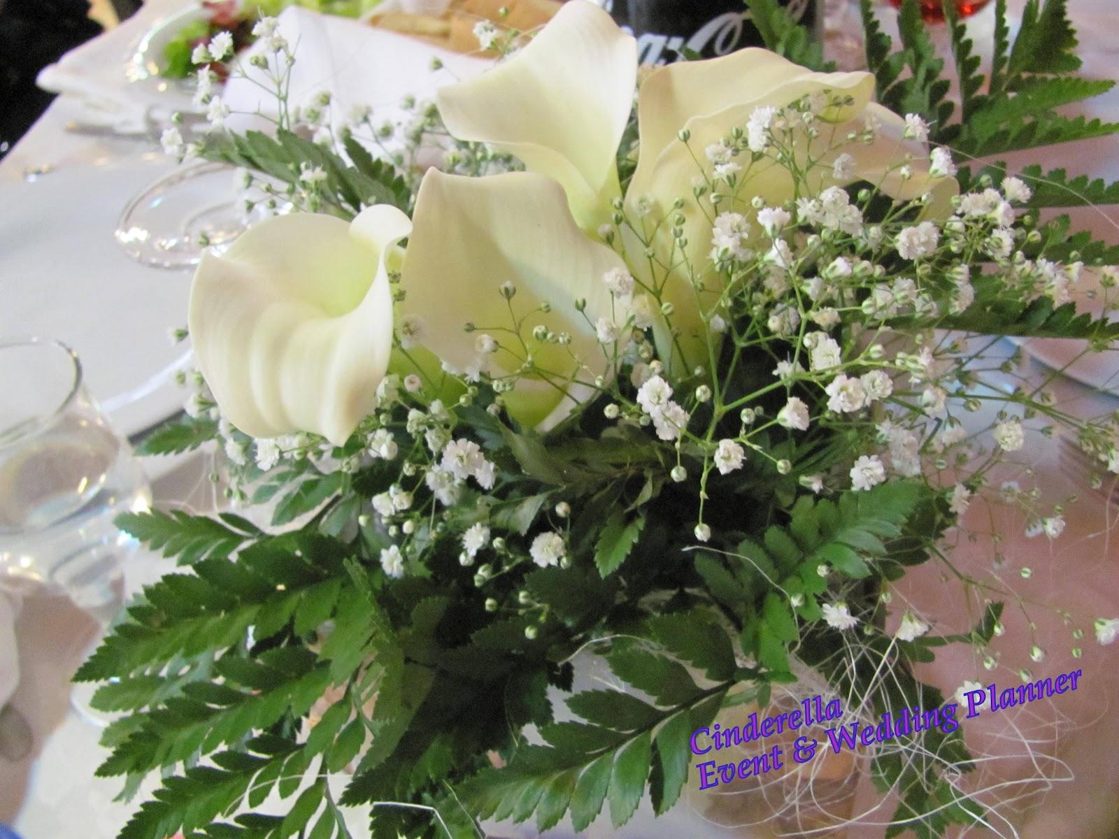 Famoso Cinderella Event & Wedding Planner: PICCOLI CENTROTAVOLA PER COMUNIONE RX56