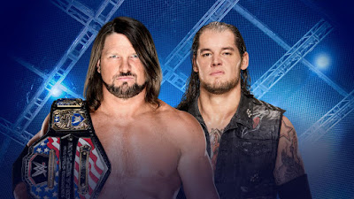 AJ Styles vs Baron Corbin Hell in a Cell 2017 United States Championship Match