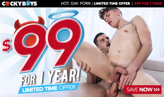 Cockyboys - Yearly Special For Today! Limited Time Offer!