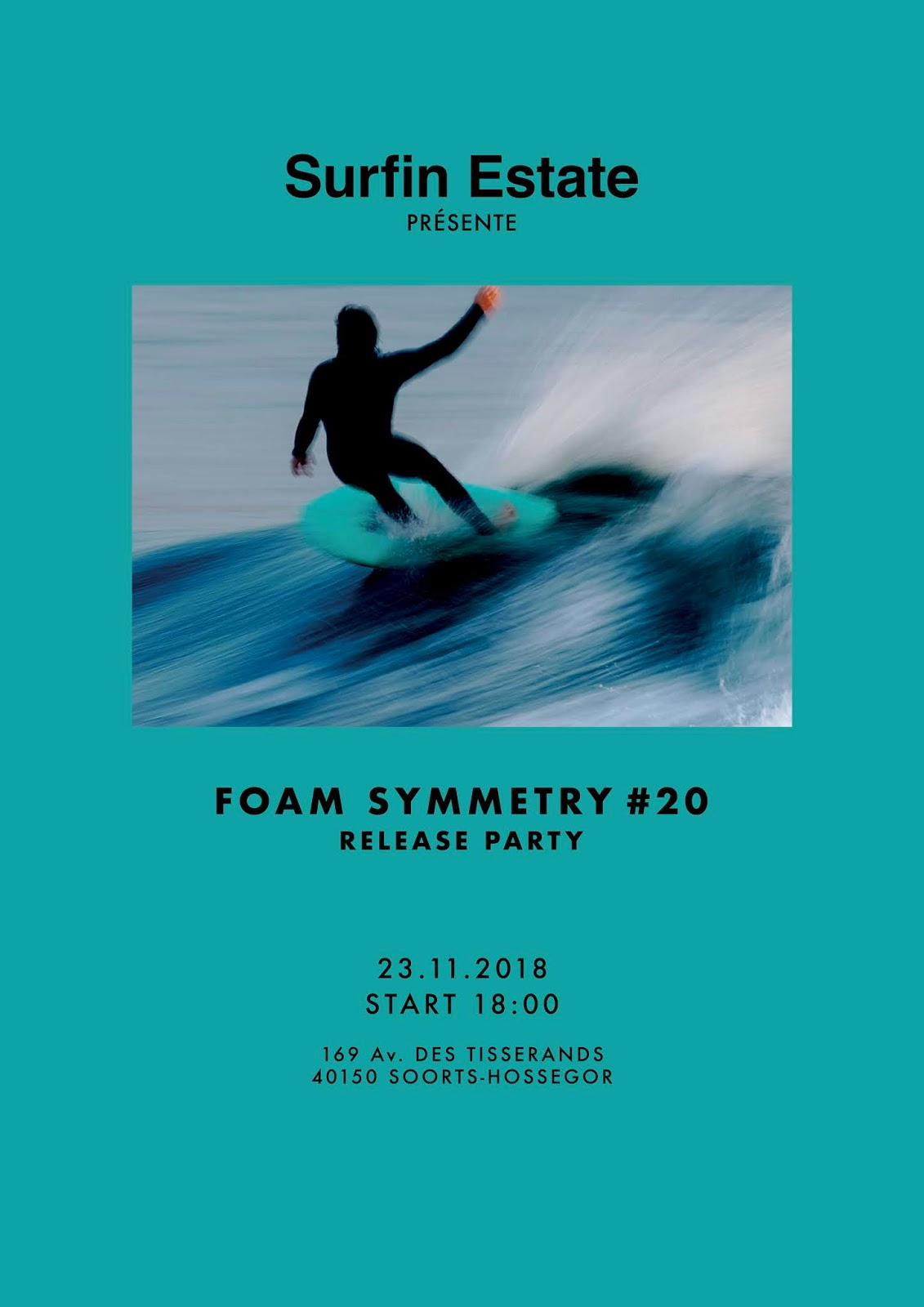 Foam symmetry release party at Surfin Estate