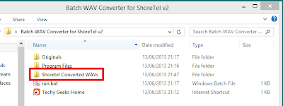 Shoretel Batch WAV Converter v2 Released 5