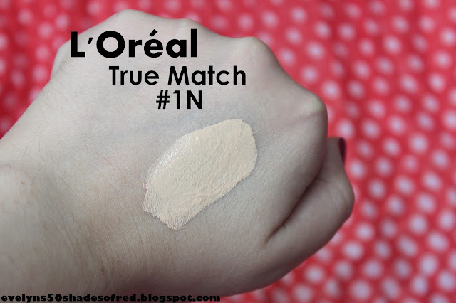 L'Oreal True March 1 N Ivory Ivoire