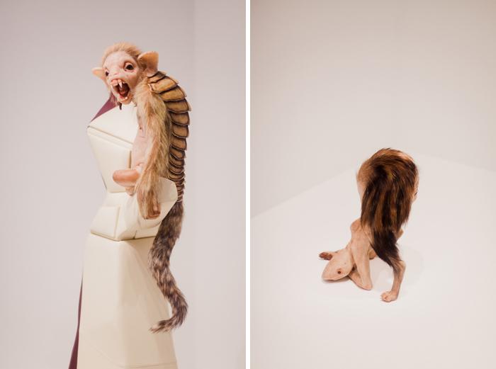 Patricia Piccinini sculptures