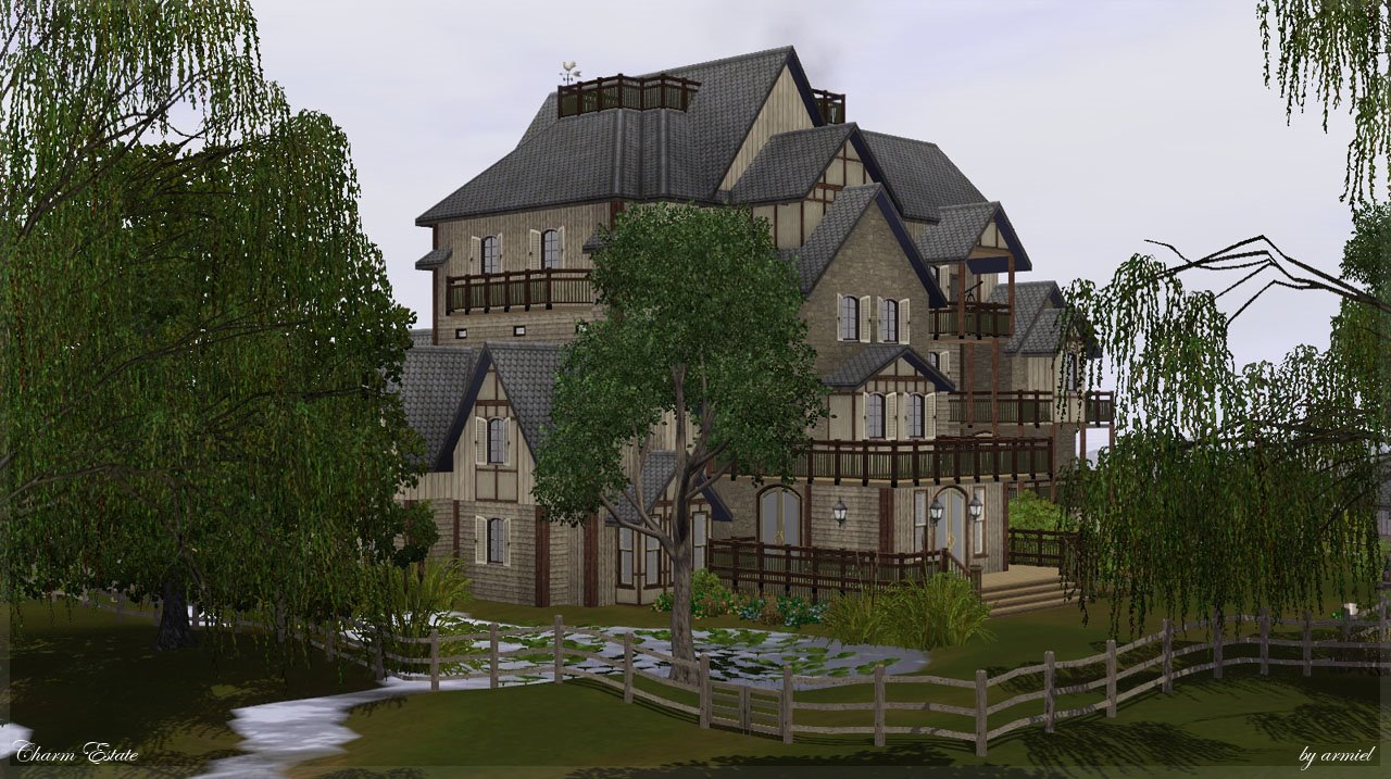 my sims 3 blog charm estate a tomb like adventure by armiel. Black Bedroom Furniture Sets. Home Design Ideas