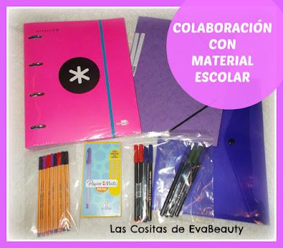 Colaboración con Material Escolar