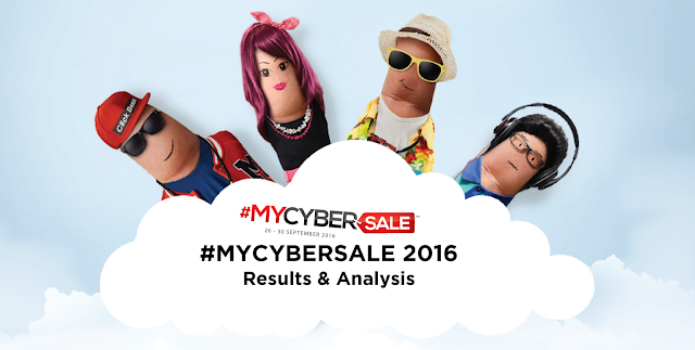 #MYCYBERSALE 2016 results & analysis