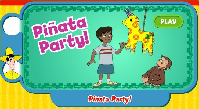 Worksheet. Jugando y aprendiendo juntos Piata Party Fiesta de piata con