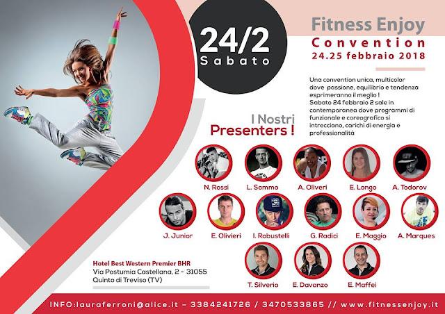 Fitness Enjoy Convention, 24 febbraio 2018 a Quinto di Treviso, Treviso