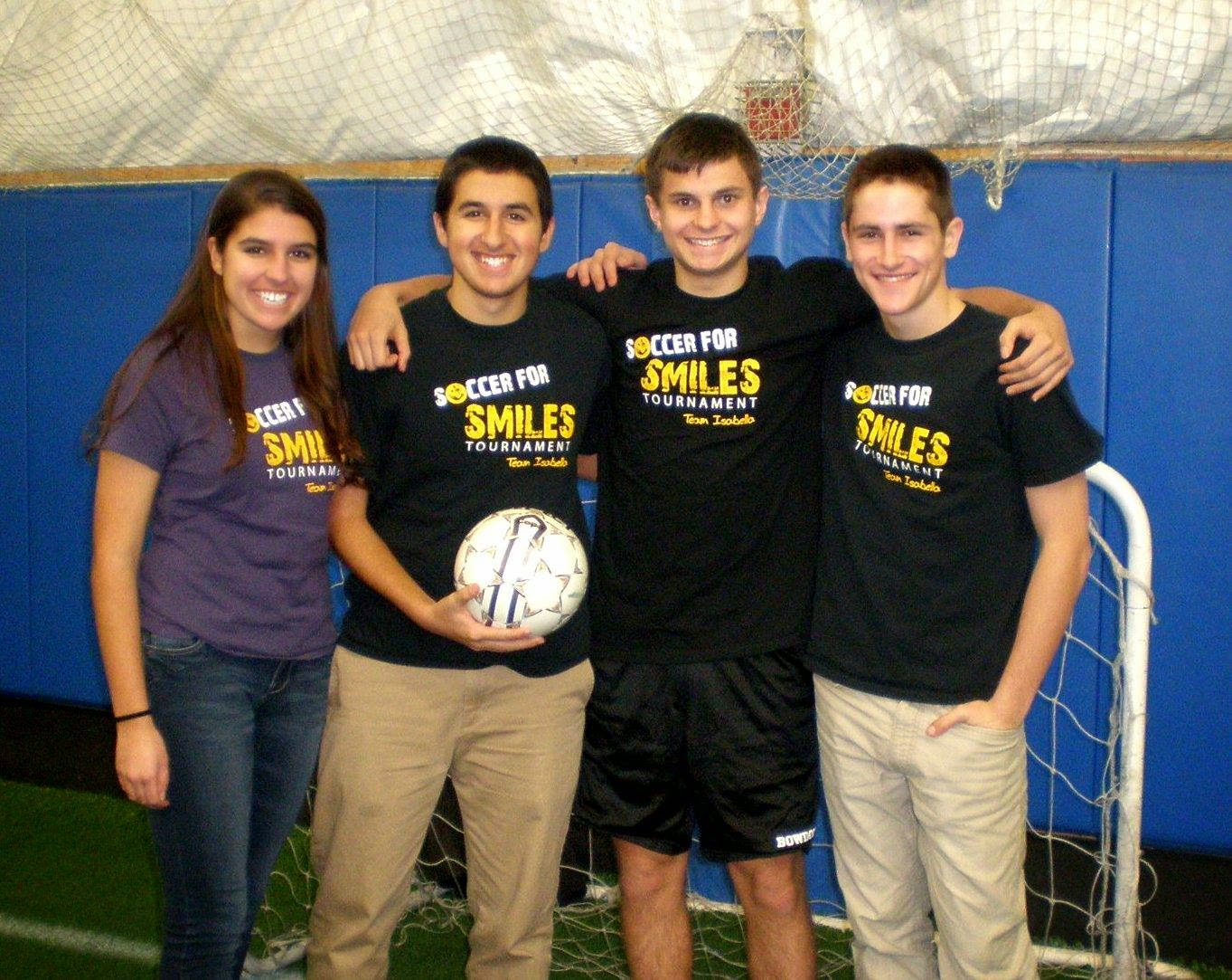 Soccer for Smiles crew