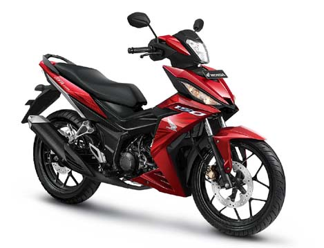 All New Honda Supra GTR 150 Sporty