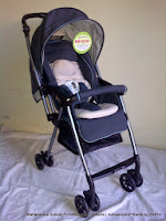 Kereta Bayi CocoLatte JS849 New Life Super Light Weight with Extra Thick Cushion Seat 3.9 kg